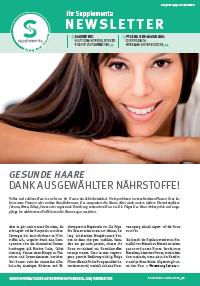 Newsletter-Titelseite im September 2014