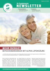 Newsletter-Titelseite im Oktober 2014