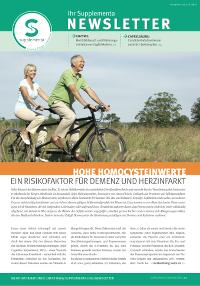 Newsletter-Titelseite im April 2015