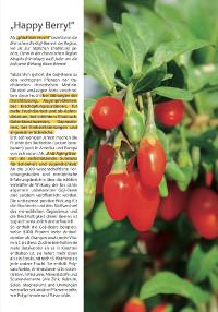 Extrablatt zum Thema Goji-Beeren (Juni 2016)
