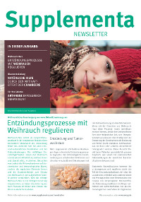 Supplementa Monatsnews im September 2018