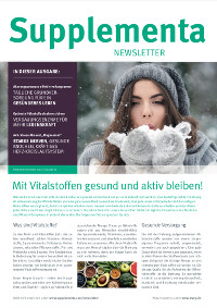 Newsletter-Titelseite im September 2018