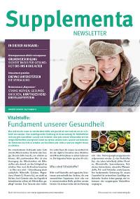 Supplementa Monatsnews im Dezember 2019