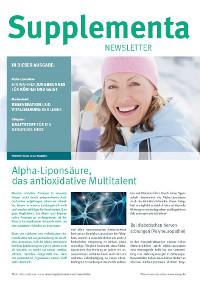 Supplementa Monatsnews im Januar 2020