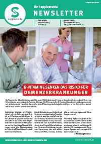 Newsletter-Titelseite im Mai 2014