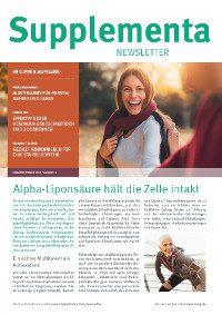 Supplementa Monatsnews im Oktober 2020