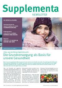 Supplementa Monatsnews im Dezember 2020