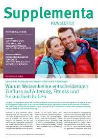 Supplementa Monatsnews im Januar 2021