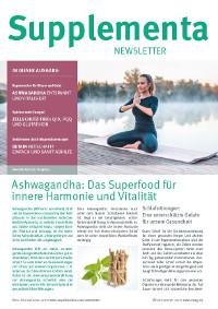Supplementa Monatsnews im April 2021
