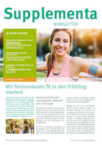Supplementa Monatsnews im Mai 2021