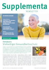 Supplementa Monatsnews im Juni 2021
