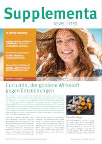 Supplementa Monatsnews im Juli 2021